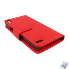 CUSTODIA A LIBRO EXCE-i6 PLUS R Per iPHONE 6  ROSSA