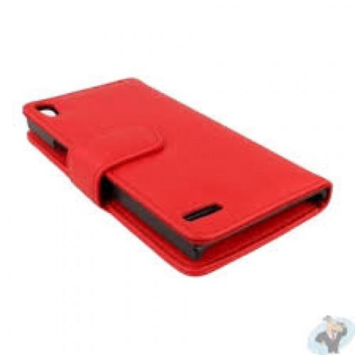 CUSTODIA A LIBRO EXCE-i7 PLUS A Per iPHONE 7 AZZURRA.