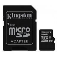 MICRO SDS CON ADATTATORE SDC10-32GB KINGSTON CLASSE 10