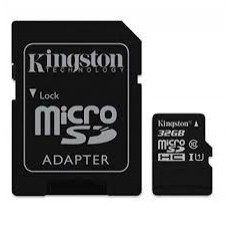 MICRO SDS CON ADATTATORE SDC10-32GB KINGSTON CLASSE 10