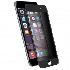 GLASSFC-I6N VETRO TEMPERATO con  cornice NERO iPhone 6
