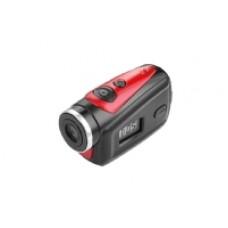 GO 2100HD TREVI Rossa Mini Videoc. con Cust. SUB Micr. Angolo visivo 90° Disp.LCD Presa Audio Video