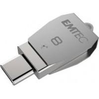 EMTEC DUOS  USB2.0 micro-USB T250 8GB