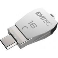 EMTEC DUOS  USB2.0 micro-USB T250 16GB