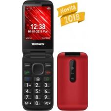 CELLULARE  TELEFUNKEN TM360 ROSSO 3G WHATSAPP FACEBOOK DUAL SIM