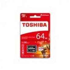 MICRO SD CON ADATTATORE M302EA TOSHIBA 64 GB CL-10 90MB-S