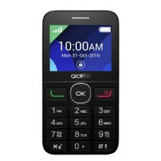 CELLULARE ALCATEL OT2008 BLACK-METAL SILVER
