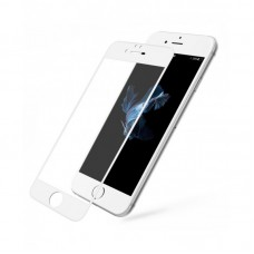mYSCUDO Tempered Glass - APP IPHONE 6 6S 5D Full BIANCO