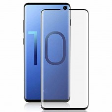 mYSCUDO Tempered Glass  SAMSUNG S10 PLUS 5D Full NERO