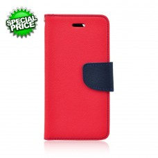 BOOK CASE -APP IPHO 6-6S rosso-blu
