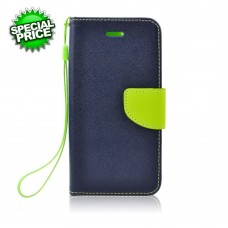 BOOK CASE -APP IPHO 6-6S blu-lime