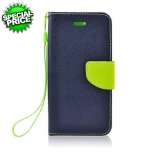 BOOK CASE APP IPHO 6-6S Plus blu-lime